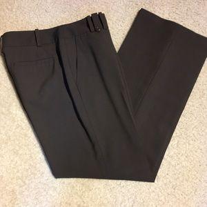 Loft brown dress pants